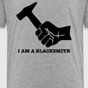 Blacksmith Hammer - Toddler Premium T-Shirt