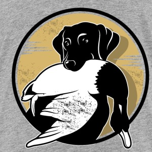 A dog with duck - Toddler Premium T-Shirt