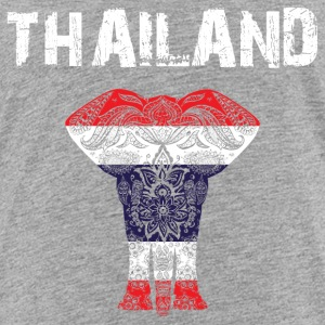 Nation-Design Thailand Elephant - Toddler Premium T-Shirt