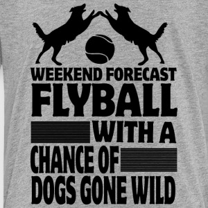 Weekend Forecast Flyball - Toddler Premium T-Shirt