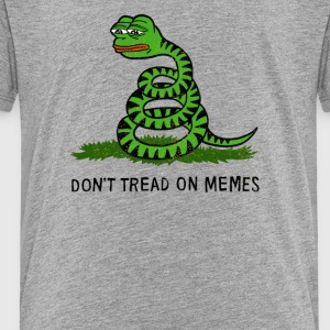 Snake Alone - Toddler Premium T-Shirt