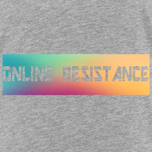 Online Resistance T-Shirts Long Logo - Toddler Premium T-Shirt