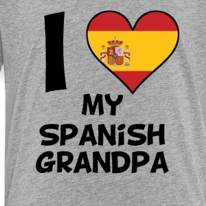 I Heart My Spanish Grandpa - Toddler Premium T-Shirt