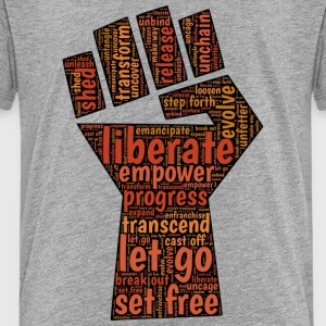 Liberate - Fist - Toddler Premium T-Shirt