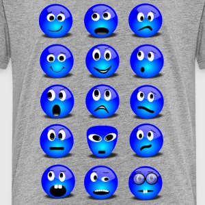Emotional Emoticons - Toddler Premium T-Shirt