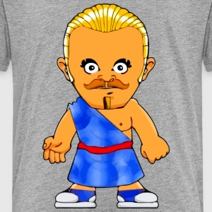 Little Gangster Comic Figure Crime Sparta - Toddler Premium T-Shirt