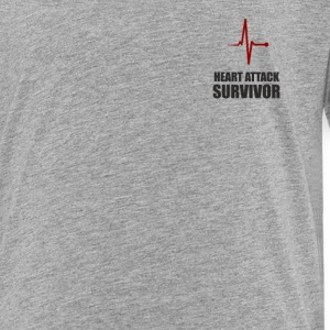 heart attack survivor, - Toddler Premium T-Shirt
