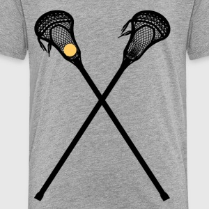 Lacrosse is a fun sport - Toddler Premium T-Shirt