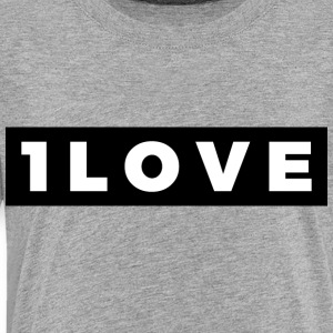 Once Love (White/Black Border) - Toddler Premium T-Shirt