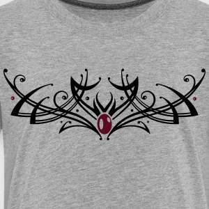 Tribal Tattoo ornament with gemstone. - Toddler Premium T-Shirt