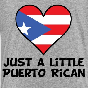 Just A Little Puerto Rican - Toddler Premium T-Shirt