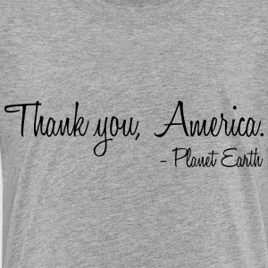 Thank you, America. - Toddler Premium T-Shirt
