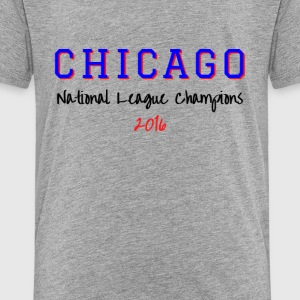 CHICAGO NATIONAL LEAGUE - Toddler Premium T-Shirt