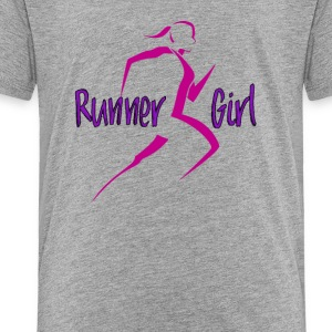 Runner Girl - Toddler Premium T-Shirt