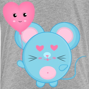 Mouse with Heart - Toddler Premium T-Shirt