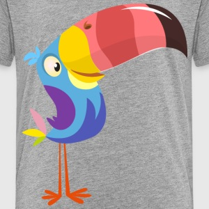 parrot-bird-animal-image - Toddler Premium T-Shirt