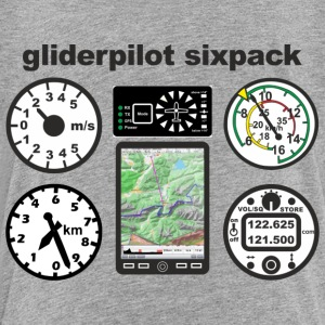 six pack gliderpilot - Toddler Premium T-Shirt