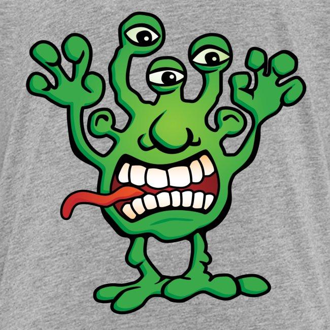 Cartoon Monster Alien