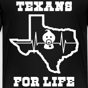 March for Life: Texans Pro Life Apparel - Toddler Premium T-Shirt