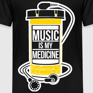 Music is my medicine - Toddler Premium T-Shirt