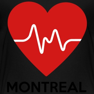 Heart Montreal - Toddler Premium T-Shirt