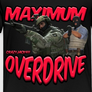 MAXIMUM OVERDRIVE (CRAZYJACK411) - LOGO - Toddler Premium T-Shirt