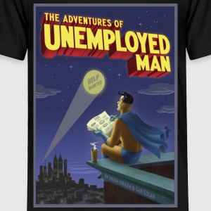 The Adventure of Unemployed Man - Toddler Premium T-Shirt