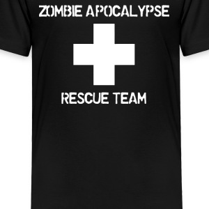 ZOMBIE APOCALYPSE RESCUE TEAM - Toddler Premium T-Shirt