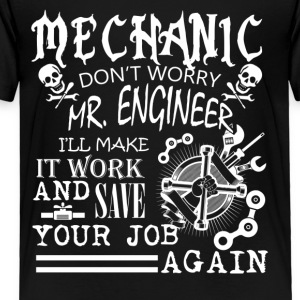 MECHANIC TEE SHIRT - Toddler Premium T-Shirt