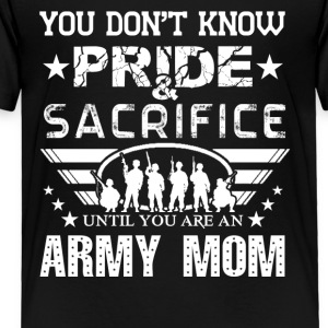 Army Mom Pride Shirt - Toddler Premium T-Shirt
