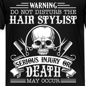 Hair Stylist Shirt - Toddler Premium T-Shirt