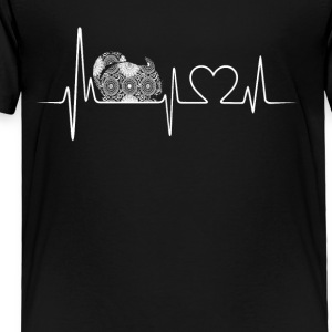 chinchilla heartbeat shirt - Toddler Premium T-Shirt