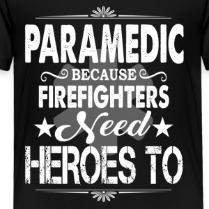 Paramedic Tee Shirt - Toddler Premium T-Shirt