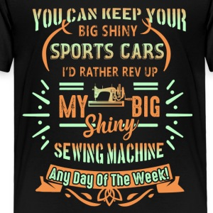 Sewing Machine Shirt - Toddler Premium T-Shirt