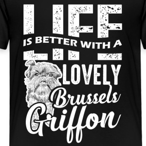 Better Lovely Brussels Griffon Shirt - Toddler Premium T-Shirt