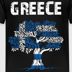 Nation-Design Greece Olive Tree - Toddler Premium T-Shirt