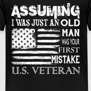 US VETERAN TEE SHIRT - Toddler Premium T-Shirt
