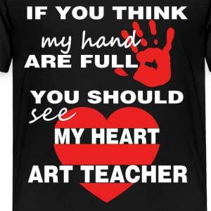 Art Teacher T shirt - Toddler Premium T-Shirt