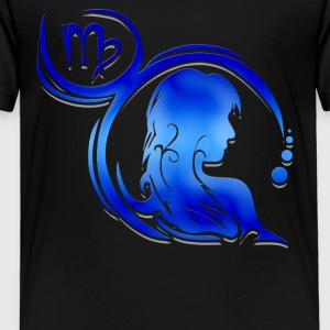 Virgo Astrological Sign Tee Shirt - Toddler Premium T-Shirt