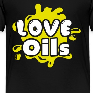 Love Essential Oils Tee Shirt - Toddler Premium T-Shirt