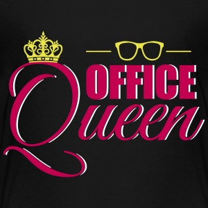 Cute Office Queen T-Shirt for Secretary - Toddler Premium T-Shirt