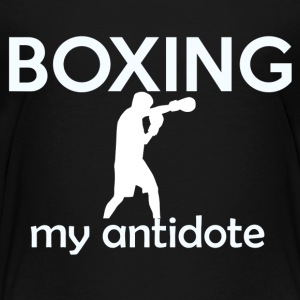 Kick boxing design - Toddler Premium T-Shirt