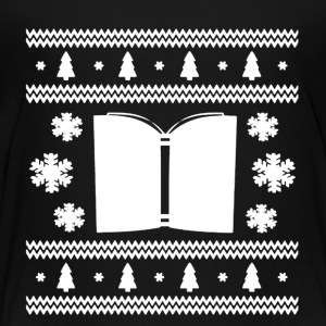 Book Christmas Shirt - Toddler Premium T-Shirt