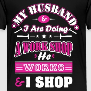 Mechanic Wife Shirt - Toddler Premium T-Shirt