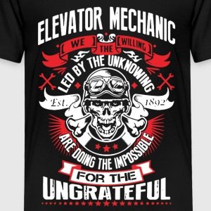 WE THE WILLING - ELEVATOR MECHANIC SHIRT - Toddler Premium T-Shirt