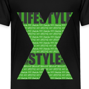 Motocross Kawa Lifestyle - Toddler Premium T-Shirt