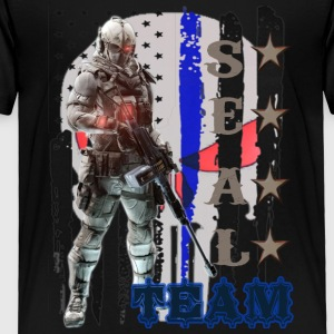 PROUD OF SEAL TEAM TSHIRT - Toddler Premium T-Shirt