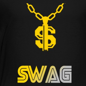 S letter swag chain - Toddler Premium T-Shirt