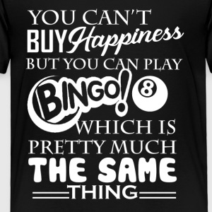 Bingo Happiness Shirt - Toddler Premium T-Shirt
