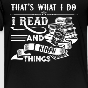 Read Books Shirt - Toddler Premium T-Shirt